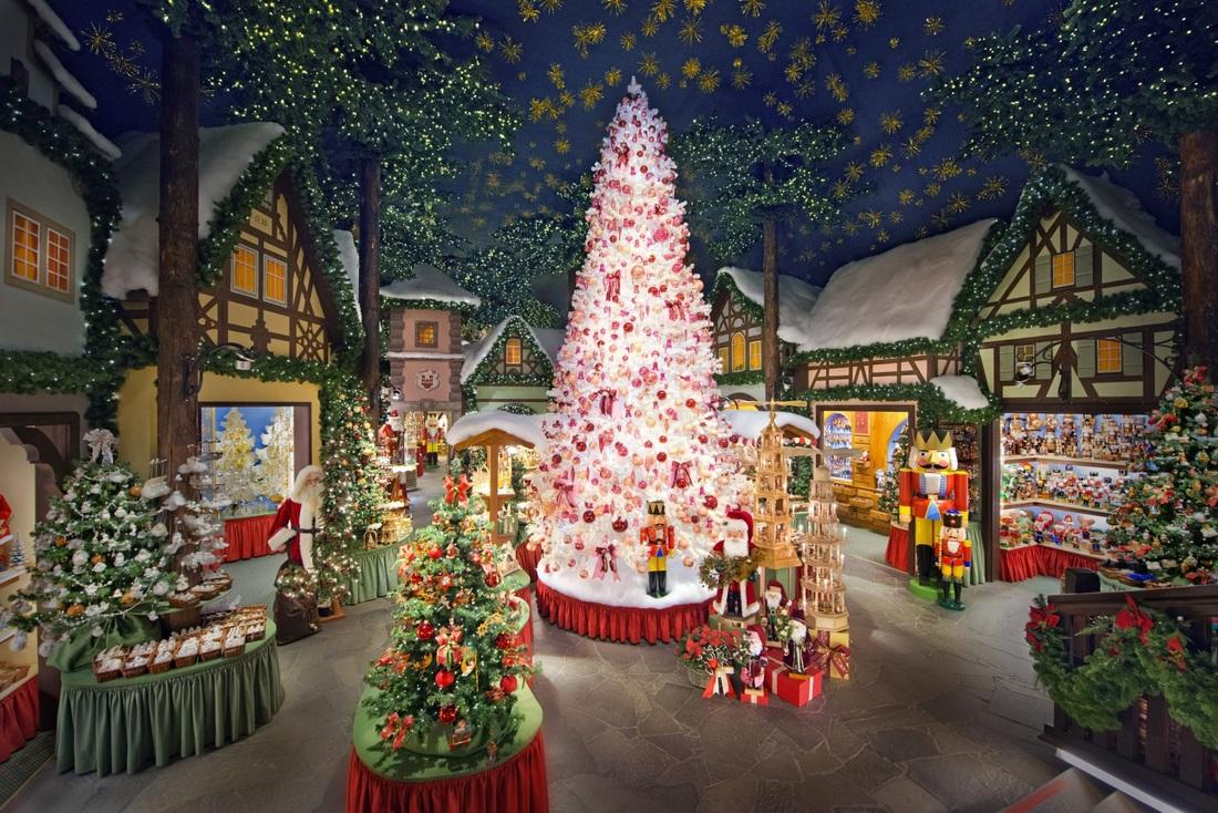 Božična vasica v Rothenburg