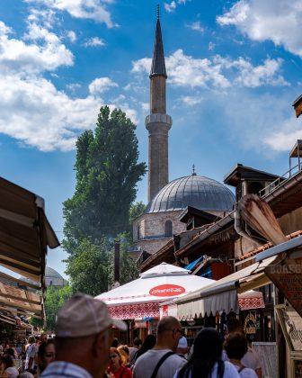 Tržnica v Sarajevu Fotografija Darcey Bea