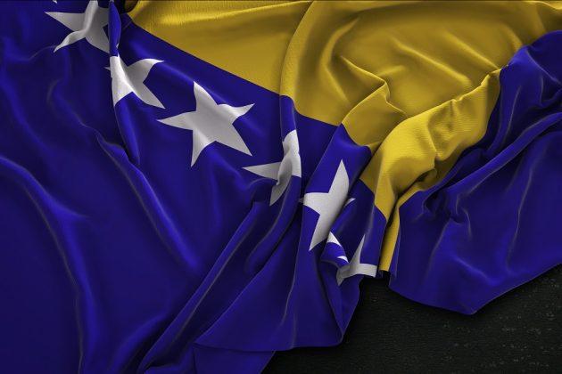 Zastava Bosne in Hercegovine