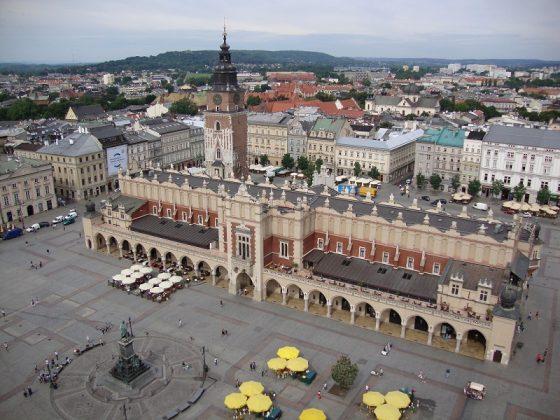 Cloth hall (Sukiennice), Krakov