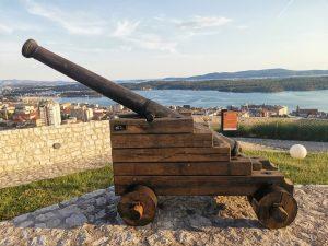 Šibenik - trdnjava Barone